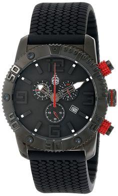 Burgmeister Men's BM521-622E Black Chrono Analog Chronograph Watch
