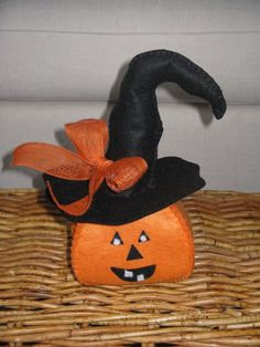 Zucca di Halloween portacaramelle, by Fede Country, 5,00 € su misshobby.com