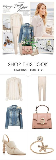 """""""Happily Lauren"""" by thewondersoffashion ❤ liked on Polyvore featuring 3.1 Phillip Lim, Brunello Cucinelli, RED Valentino, PLANT, Trussardi, Rosie Assoulin and LC Lauren Conrad"""