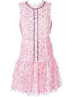 floral pleated hem dress £1,530 #farfetch #love #FendiDresses