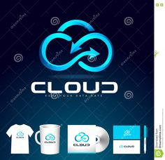 Cloud Logo Design. Cloud Icon Vector. Stock Illustration - Image: 80658216