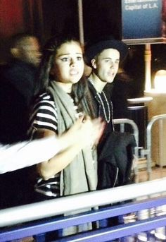 Justin Bieber and Selena Gomez Go to Halloween Horror Nights at Universal Studios California