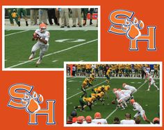 Sam Houston State University vs North Dakota State University - NCAA DIVISION II Football Championship.