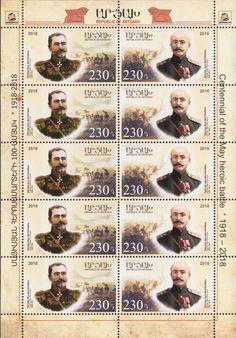 230 Dram 2018 Children's Philately Armenian Cartoons Full Sheet Mnh Armenia Stamps
