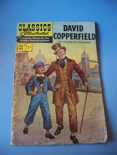 David Copperfield No 48 and A Tale of Two by MargsMostlyVintage Old Comic Books, Vintage Comic Books, Comic Book Covers, Vintage Comics, Film D'animation, Old Comics, Classic Comics, Book Worms, Etsy Vintage