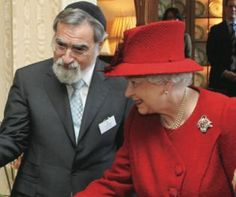 Chief Rabbi and HM The Queen  While committed to defending the Anglican faith, Queen Elizabeth II has also played a significant role in the transformation of Britain into a multi-ethnic, multi-faith society.  http://www.chiefrabbi.org/2012/05/31/the-queen-is-defender-of-all-britains-faiths-published-in-the-times/