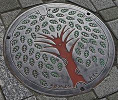 Fuchinobe, Japan...manhole cover