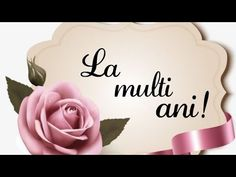 La multi ani🎂 Felicitare muzicala ♥️ - YouTube Happy Birthday Pictures, Happy Birthday Wishes, Cartoon Styles, Orchids, Lily, Place Card Holders, Youtube, Quotes, Happy Birthday Images