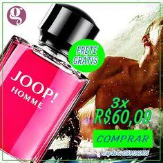Para homens selvagens, misteriosos, sedutores e autênticos.  Perfume JOOP!HOMME 125ml compre agora com a Gi!  CURTA > www.facebook.com/giovannaimports  #perfumes #importados #joop #usoperfume #giovannaimports #amoperfume #cheiroso #lindo #gostoso #homem #fashion #beleza #amoperfumes