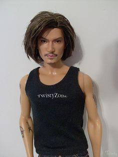OOAK Barbie Basics 2.0 Ken by -Twisty-, via Flickr.
