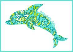 Tri Delta Dolphin!