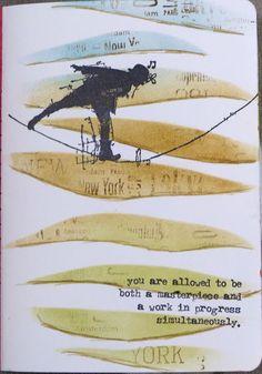 jehkotar: Stamp on your Art Journal #15