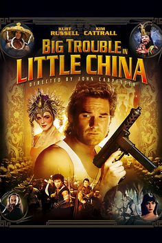 (1986) An All-American trucker gets dragged into a centuries-old mystical battle in Chinatown.