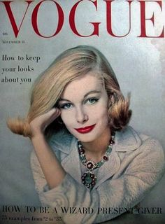 Photo by Richard Rutledge, American Vogue, November 1958*