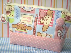 Necessaire Cinnamoroll by Casinha de Pano, via Flickr