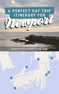 A perfect day trip itinerary for Newport, Rhode Island! Click through for the full itinerary on Road Trippin' The States