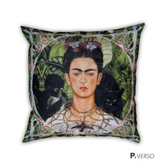 Almofada Frida Kahlo - Tropical