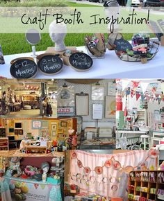 Craft Booth Inspirations   Display Ideas