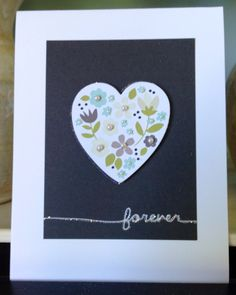 Lots o pearls speak wedding to me!! A simple a muse studio card!
