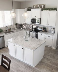 New Kitchen Countertops #kitchencountertops