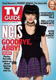 Here's your first look at Pauley Perrette's TV Guide Magazine cover! Don't miss Abby's final episode Ncis Stars, Ncis Abby, Ncis Gibbs Rules, Abby Sciuto, Nypd Blue, Ncis Cast, Pauley Perrette, Episode Online, Tv Episodes