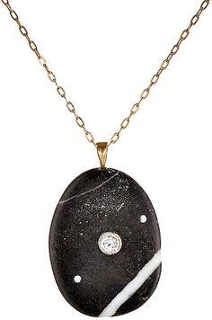 CVC Stones Women's Perseverance Necklace-BLACK