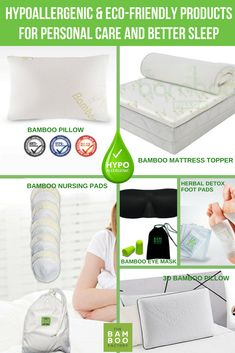 Chose the hypoallergenic and eco-friendly product options for your personal care and better sleep. Queen Sheets, Bed Sheets, Herbal Detox, Natural Sleep Remedies, Small Space Interior Design, Foot Detox, Nursing Pads, Luxury Duvet Covers, Foot Pads