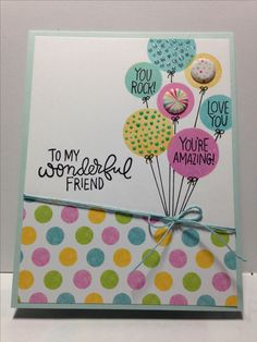 SSS September 2016 card kit; SSS It's No Secret; balloons; scratch-off; birthday; fun; cheerful