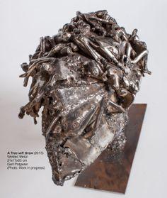 Metal Sculpture: A Tree Will Grow