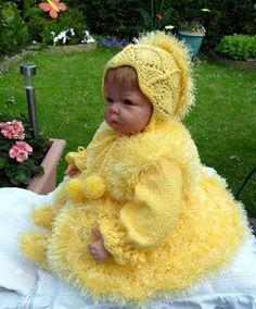 Сударушка: Lisa. Желтенький комплект с травкой.
