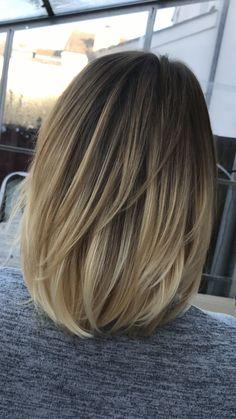 Medium Hair Cuts, Medium Hair Styles, Curly Hair Styles, Edgy Short Hair, Short Hair Cuts, Above Shoulder Length Hair, Hair Cuts For Over 50, Hair Today, Hair Highlights