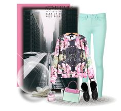 """""""<3"""" by aida-banjic ❤ liked on Polyvore featuring Tommy Hilfiger, AllSaints, women's clothing, women, female, woman, misses and juniors"""