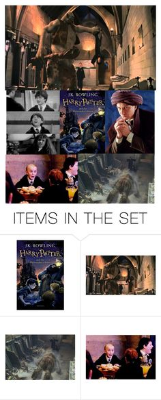 """""""Favourite scene from the philosopher's stone: Troll in the dungeon (#20)"""" by makayla-nightwood ❤ liked on Polyvore featuring art"""