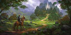 Hyrule Zelda: Breath of the Wild Concept/Fan art www.coreyloving.com