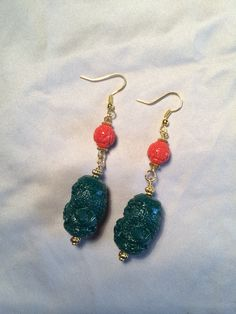 Earrings Chinese Style. Pattylou creations