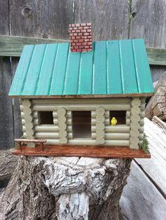 #42 Green cabin ($20.00)