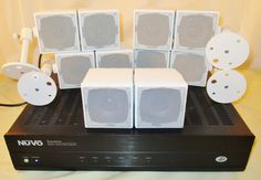 Nuvo Essentia Whole Home Audio System NV-E6dm 6 zone untested & speakers #Nuvo #homeaudio