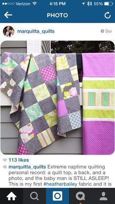 Beautiful fabric choices