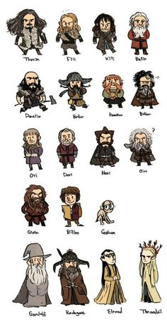 The Hobbit by nerdpipo on tumblr #Hobbit