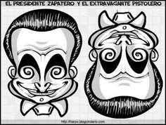 del derecho es Zapatero y del revésun pistolero