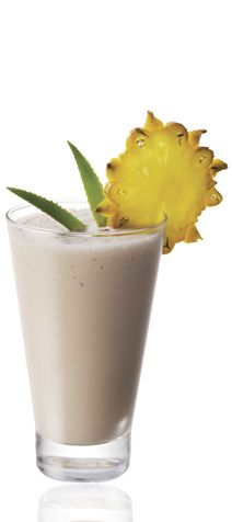 The Amarula Colada is a cream colored drink made from Amarula cream liqueur, white rum, pineapple juice and coconut cream, and served in a highball glass with pineapple. Rum Cream, Cream Liqueur, Coconut Cream, Cocktail And Mocktail, Cocktail Recipes, Drink Recipes, South African Recipes, Ethnic Recipes, Limoncello Cocktails