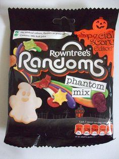 Nestle Rowntree's Randoms Phantom Mix - spooky random shaped jelly sweets. #halloween #snacks