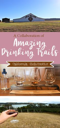 Amazing Drinking Trails Around the World   Great Drinking Trails   #KYBourbon Kentucky Bourbon Trail   Leuven, Belgium Beer Walking Tour   290 Wine Trail  Speyside Wiskey Trail   Tennessee Whiskey Trail   New Zealand's North Island Wineries   Bend Ale Trail - California Globetrotter
