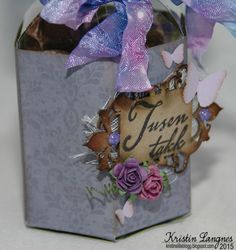 Kristins lille blogg: Enkel takke-gave