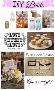 Tips and Tricks for a Do It Yourself Wedding (on a budget)