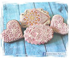 Zentangle cookies! | Cookie Connection