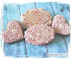Zentangle cookies!   Cookie Connection