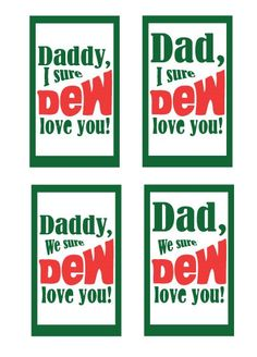 Father's Day Printable: Mountain Dew Tag perfect fathers day gift, mom birthday gifts, fathers day from Day Printable: Mountain Dew Tag Mountain Dew, Fathers Day Crafts, Happy Fathers Day, Fathers Day Ideas, Daddy Gifts, Gifts For Dad, Gifts For Family, Father's Day Printable, Free Printables
