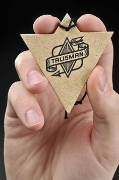Talisman Bike Gear by Jesse Lindhorst cool idea for a business card, could be my first laser cutting time!