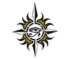 Egyptian Eye - Tribal Tattoo Design | TattooTemptation